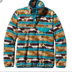 🔥EUC 🔥Patagonia Snap Aztec Synchilla Sweater